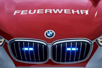 The BMW X1 as a fire service command vehicle (05/19).