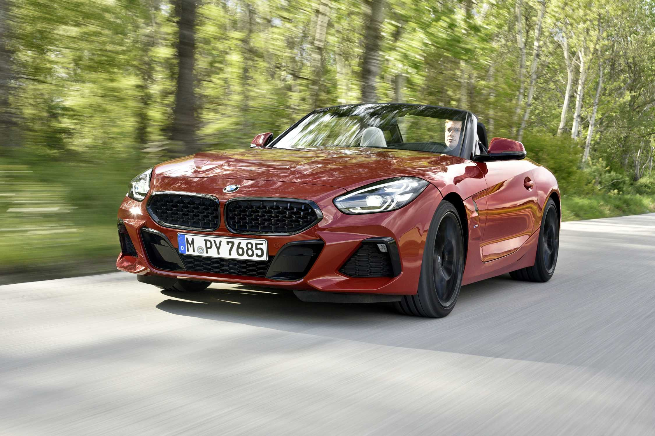 The new BMW Z4 Roadster (05/2019).