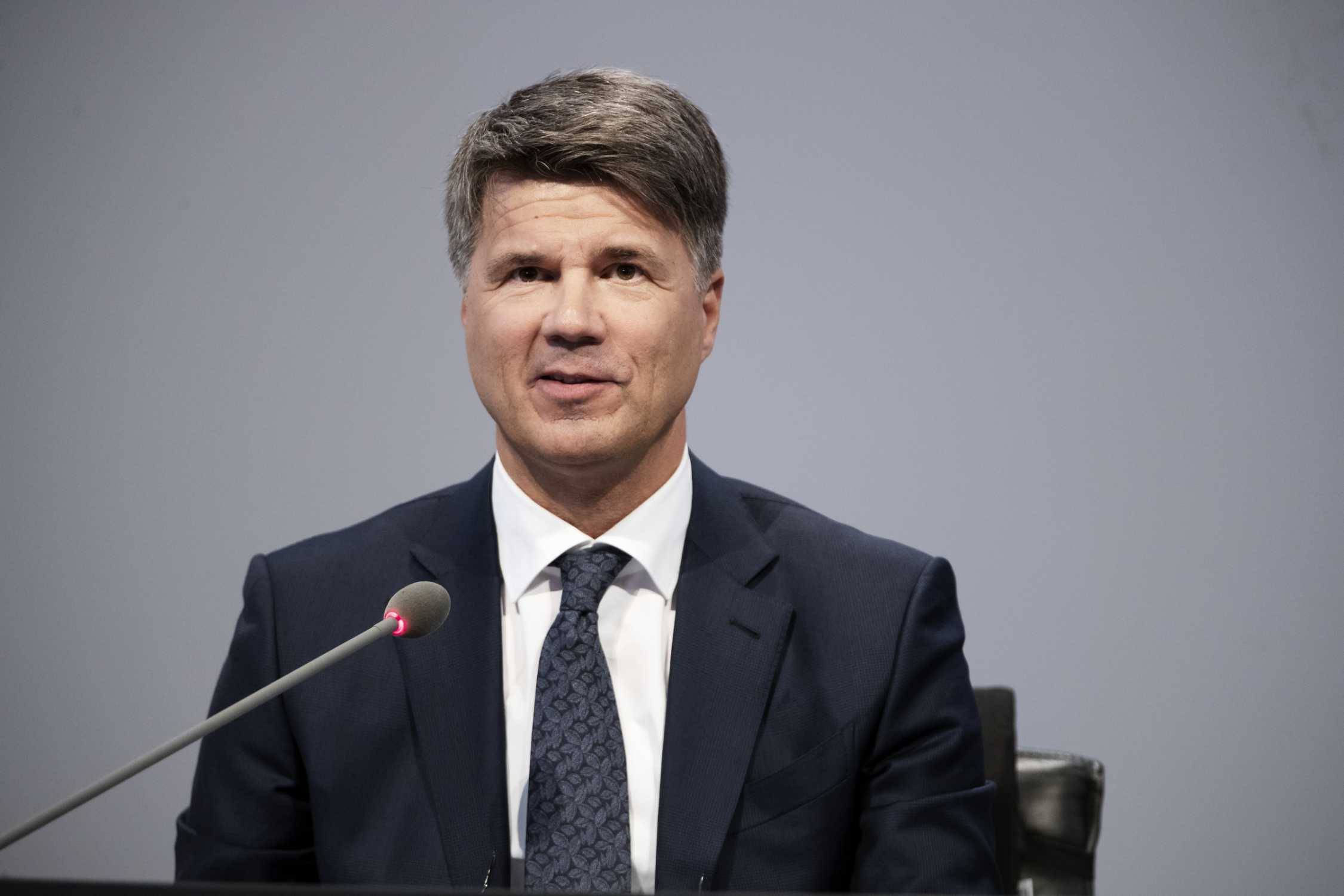 99th Annual General Meeting of BMW AG at Olympiahalle in Munich on 16 May 2019. Harald Krüger, Chairman of the Board of Management of BMW AG (05/2019)