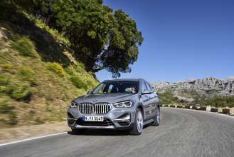 The new BMW X1 - Driving scenes - Exterior: Storm Bay with xLine // Interior: Leather Vernasca Mocca (05/2019).