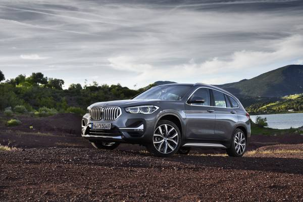 The new BMW X1 - Stills - Exterior: Storm Bay with xLine // Interior: Leather Vernasca Mocca (05/2019).