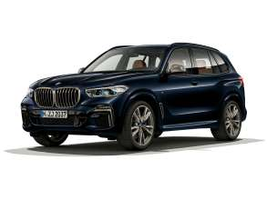 The new BMW X5 M50i (05/2019).