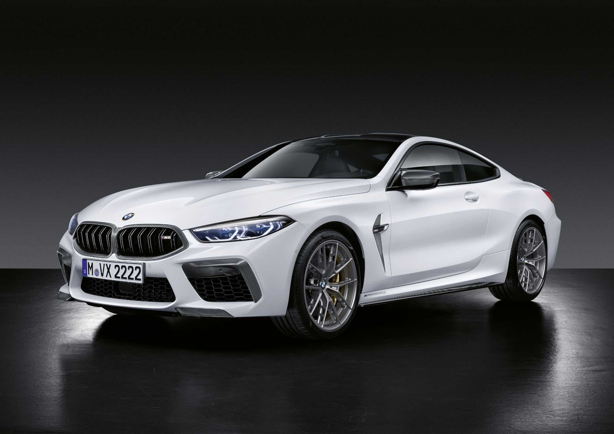 Extensive range of exclusive M Performance Parts further enhance the
