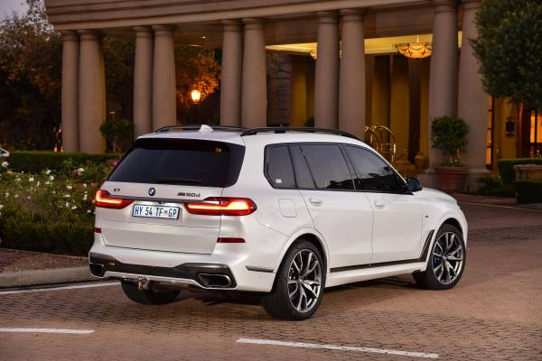 Additional Pictures Bmw X7 M50d And Bmw X7 Xdrive30d In South Africa