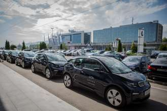 15 BMW i3s join the fleet of the only Bulgarian car sharing company SPARK (06/2019)