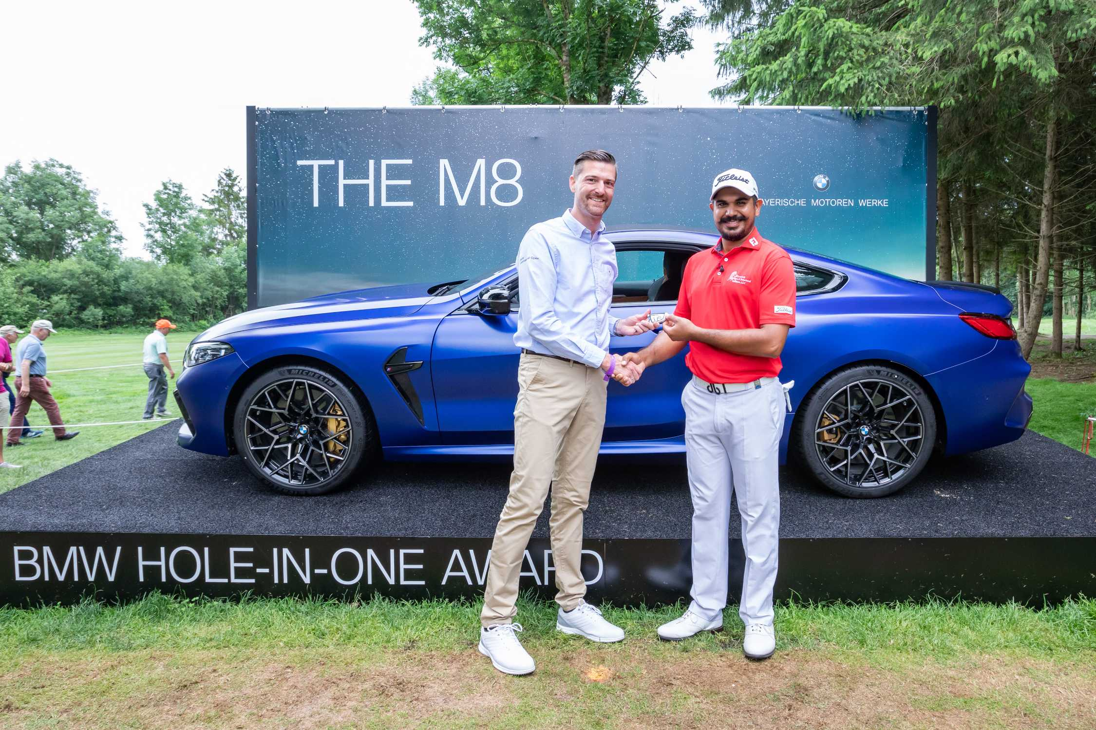 Bmw International Open 2019 Bhullar Wins The Bmw M8 Competition