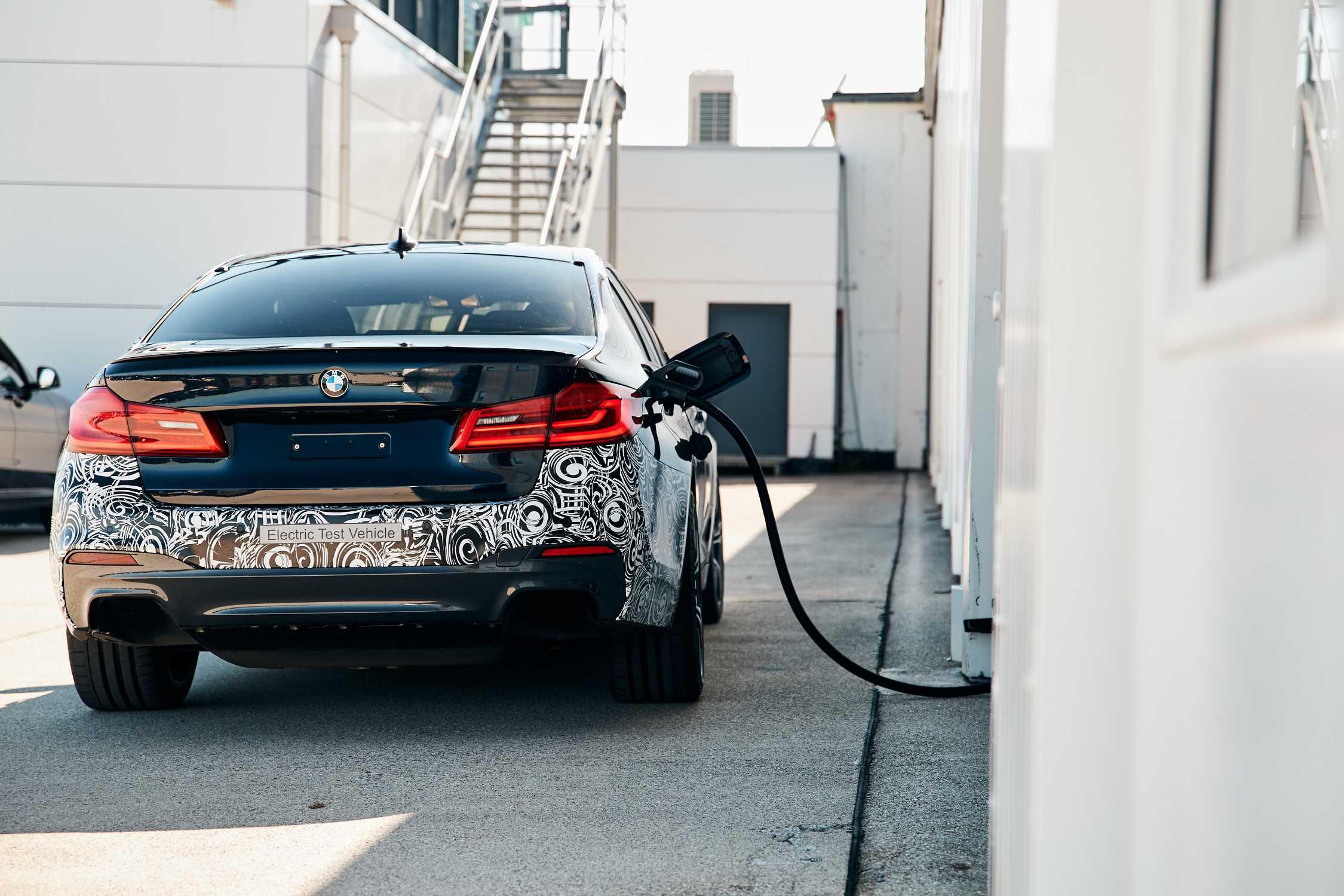 """BMW Group trial vehicle """"Power BEV"""". (06/2019)"""