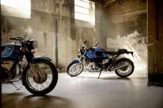 BMW R 75/5 and BMW R nineT /5. (07/2019)