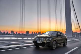 The new BMW X6 – Driving Scenes (07/2019).