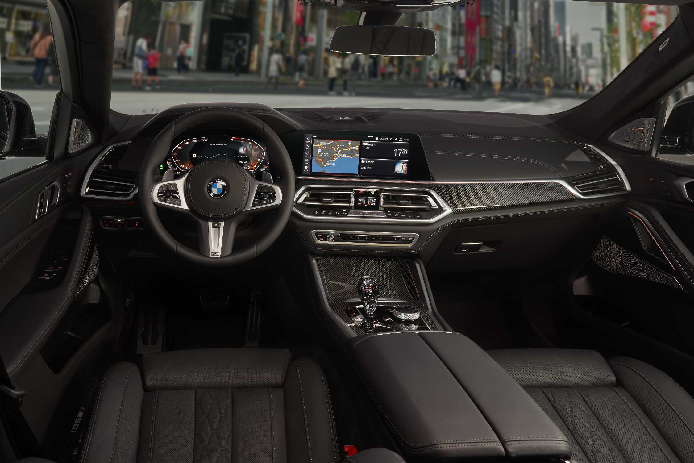The New Bmw X6 Interieur And Details 07 2019