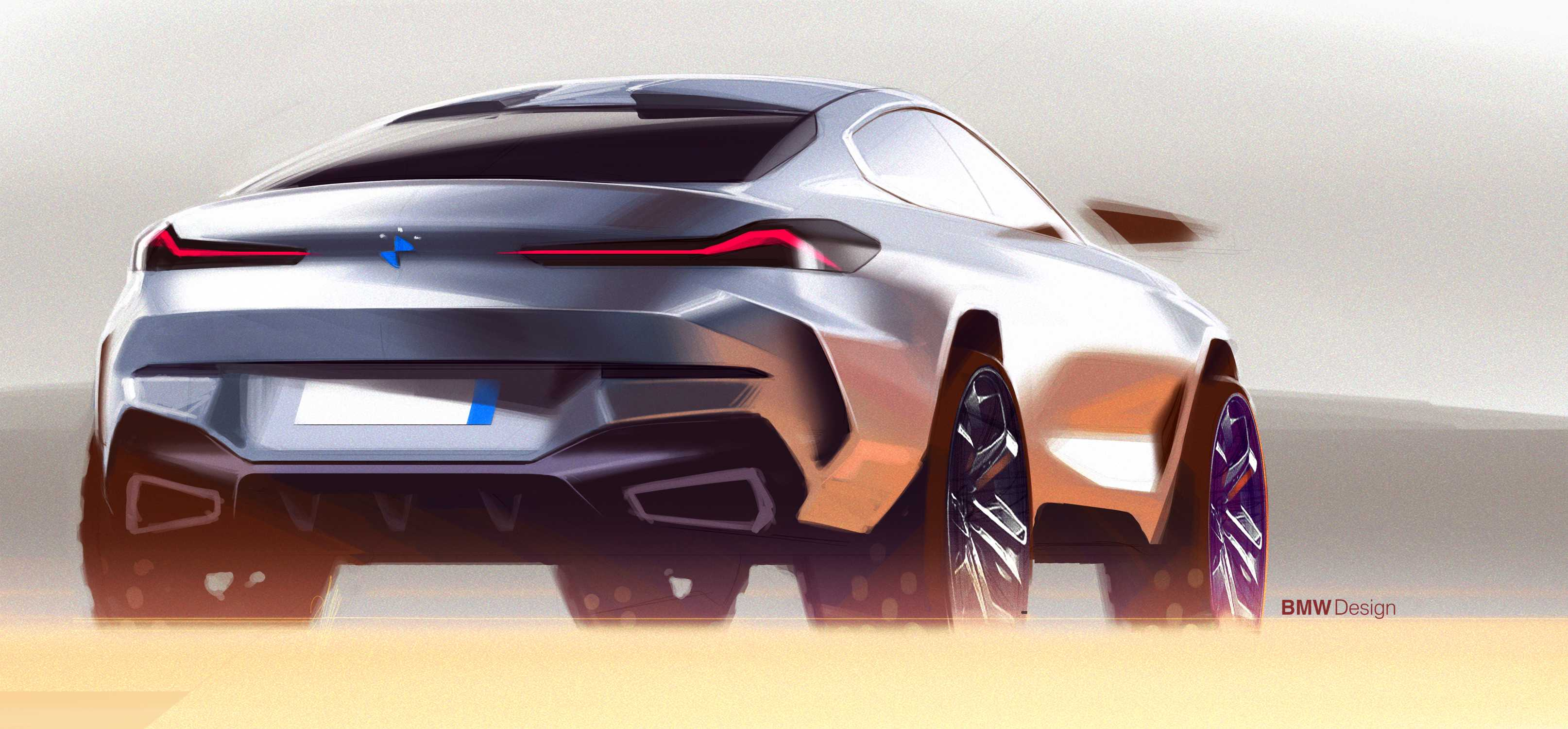 The all-new BMW X6 – Design sketches and process (07/2019)