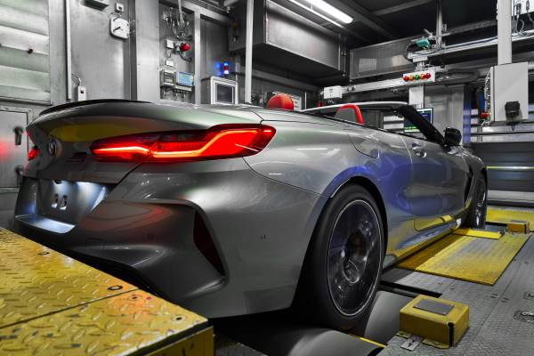 The New Bmw M8 Competition Cabriolet In The Finish And Test