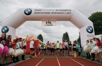 BMW Group as main partner at 1/4 Marathon in Sokolov 2019 (07/2019)