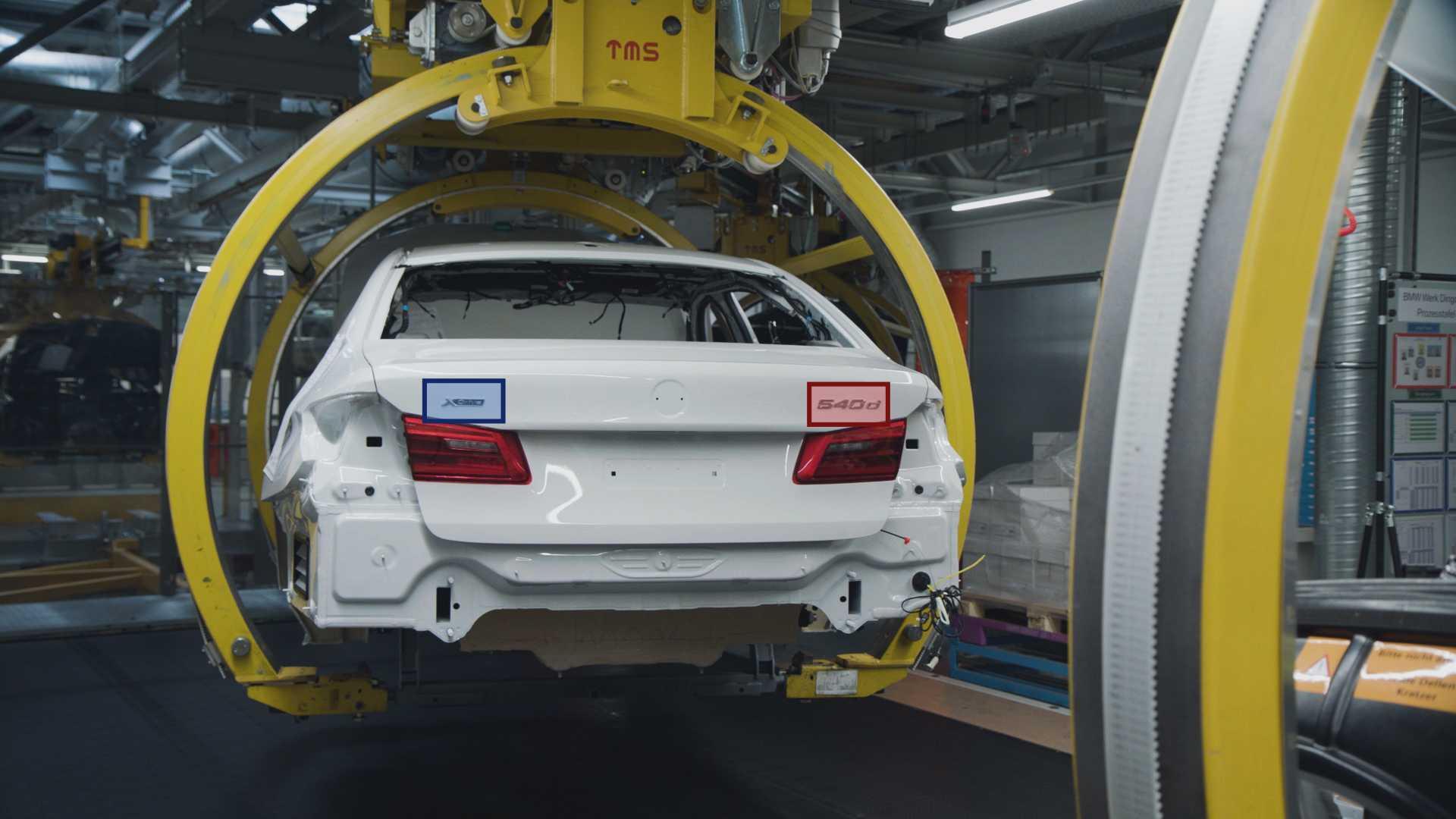 Control of model designation by KI-camera, Assembly BMW Group Plant Dingolfing (Symbolic illustration) (07/2019)