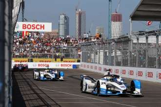 Bmw New York >> Bmw I Andretti Motorsport Finishes Third And Fourth In New