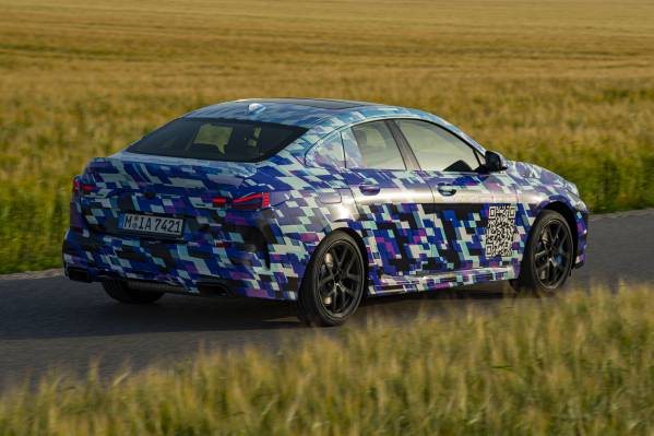 Testing in the north of Munich – The all-new BMW 2 Series Gran Coupé (07/2019).