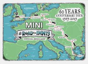 Map Of Bristol England.Roadtoimm19 Driving To The International Mini Meeting 2019 In The