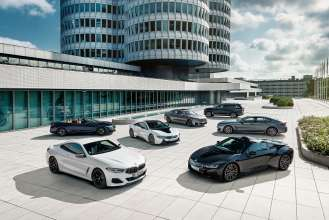 The BMW product portfolio in the luxury segment (08/2019).