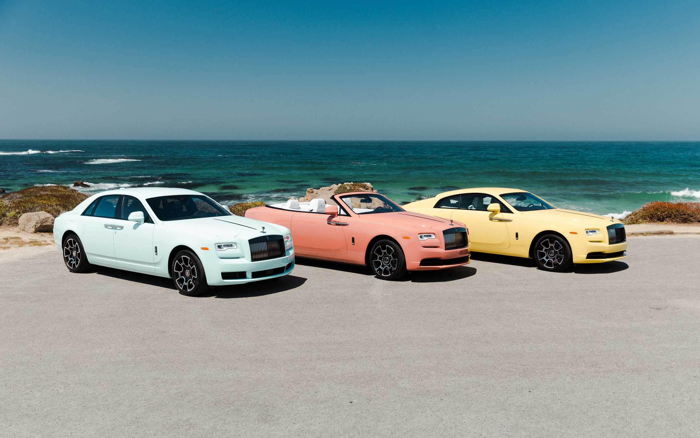 Rolls Royce Pebble Beach 2019 Collection Brings An Explosion Of Colour To Monterey Car Week