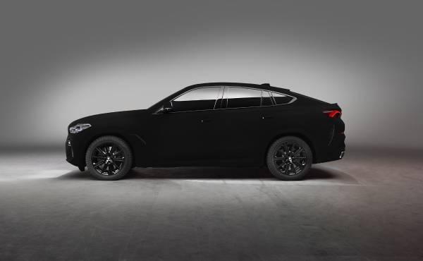 The BMW Vantablack X6 – Studio shots (08/2019).