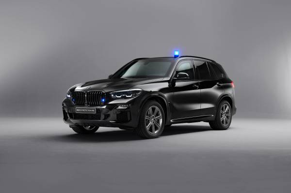 The new BMW X5 Protection VR6 - Studio shots (08/2019).