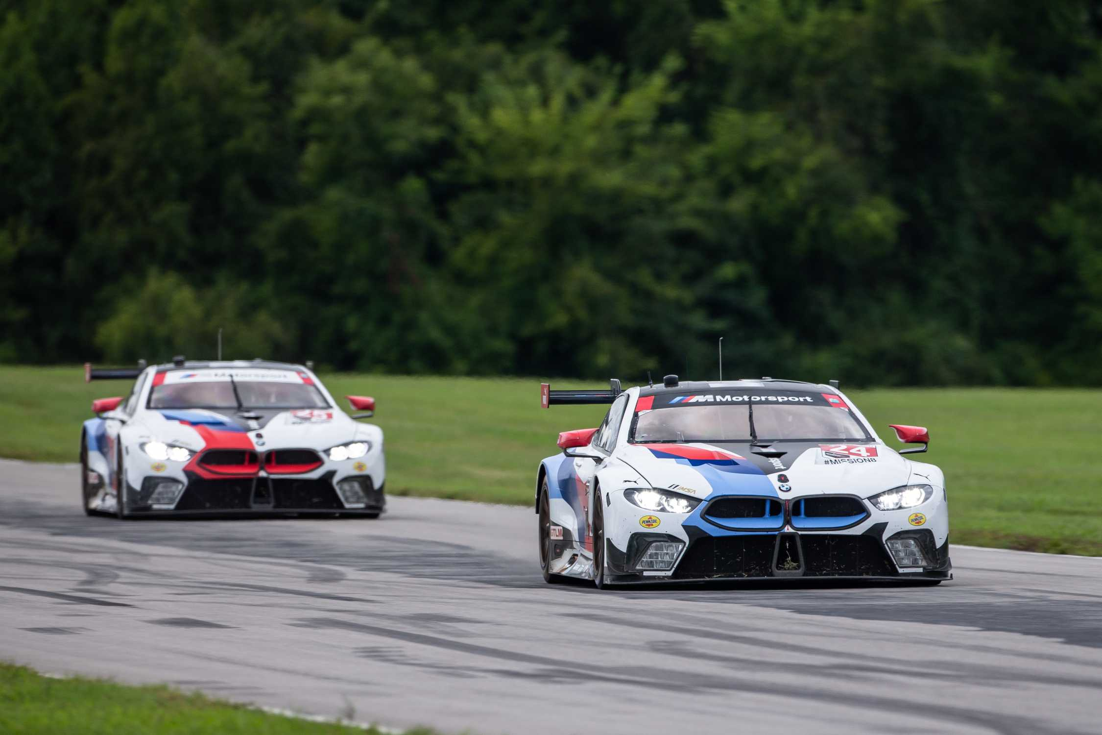 Bmw Team Rll Finishes Seventh And Eighth At Virginia International Raceway