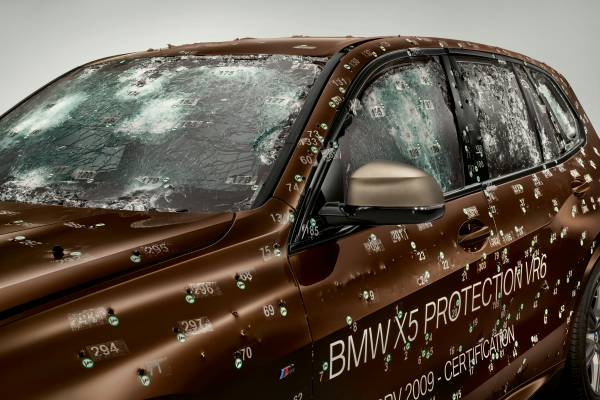 The new BMW X5 Protection VR6 - Certification (08/2019).