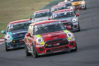 MINI Challenge Vallelunga - race 1. (09/2019)