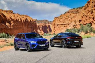 The new BMW X5 M and BMW X5 M Competition. 
