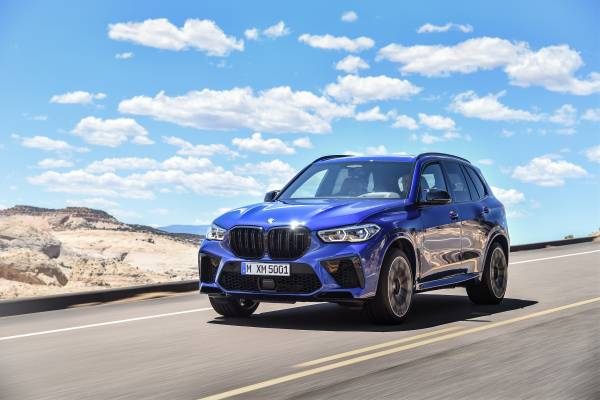 The new BMW X5 M and BMW X5 M Competition (10/2019).