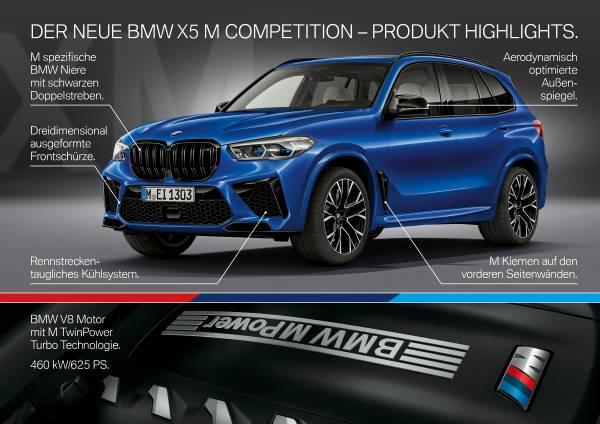 Der neue BMW X5 M und BMW X5 M Competition. (10/2019)