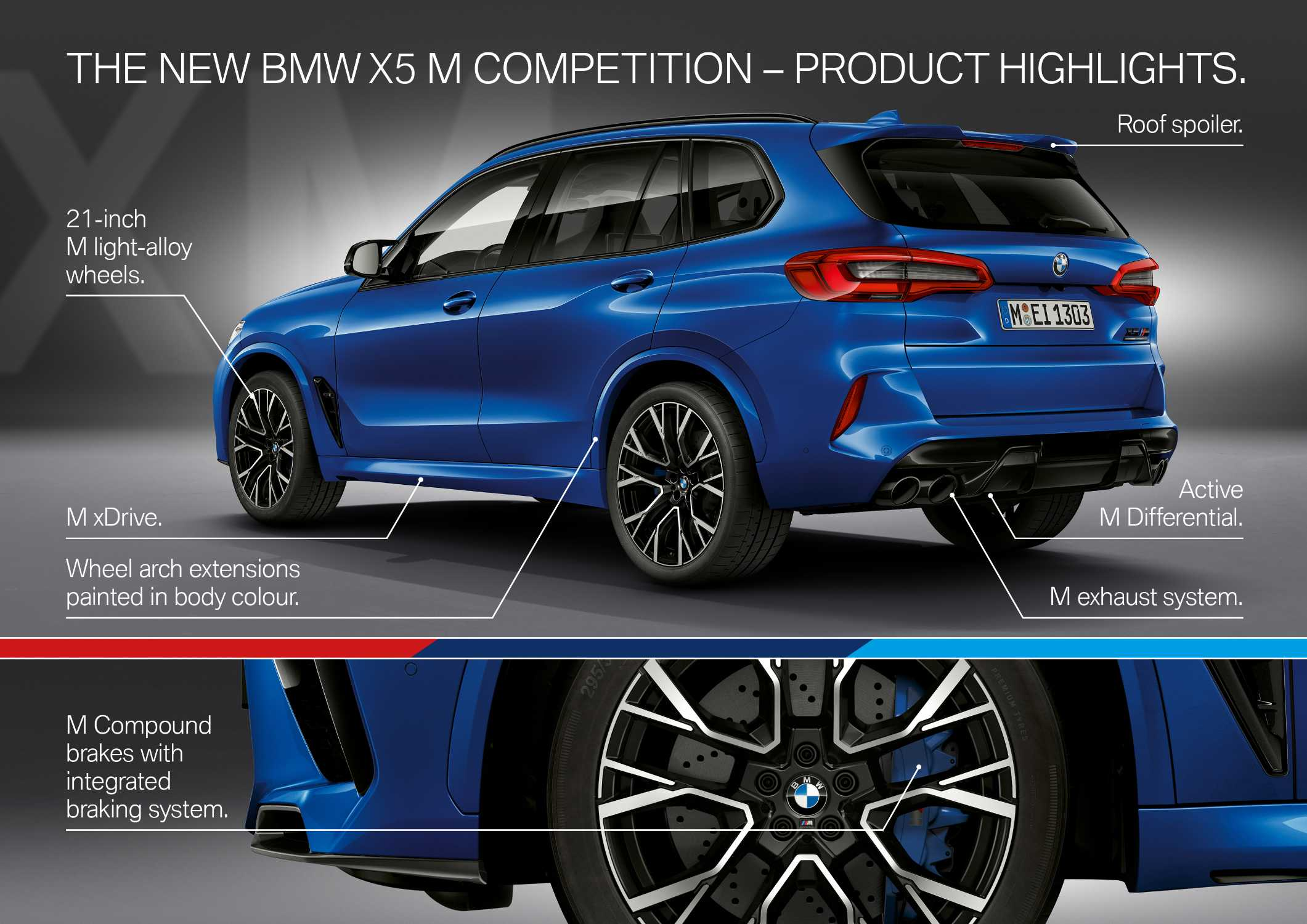 The new BMW X5 M and BMW X5 M Competition. (10/2019)