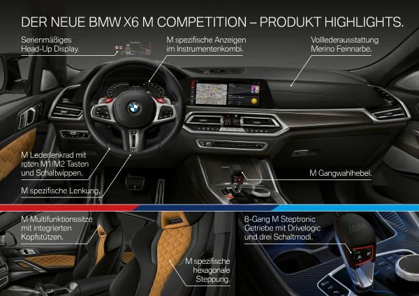 Der neue BMW X6 M und BMW X6 M Competition. (10/2019)