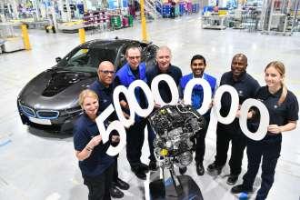 BMW Group UK Engine plant hits five millionth milestone