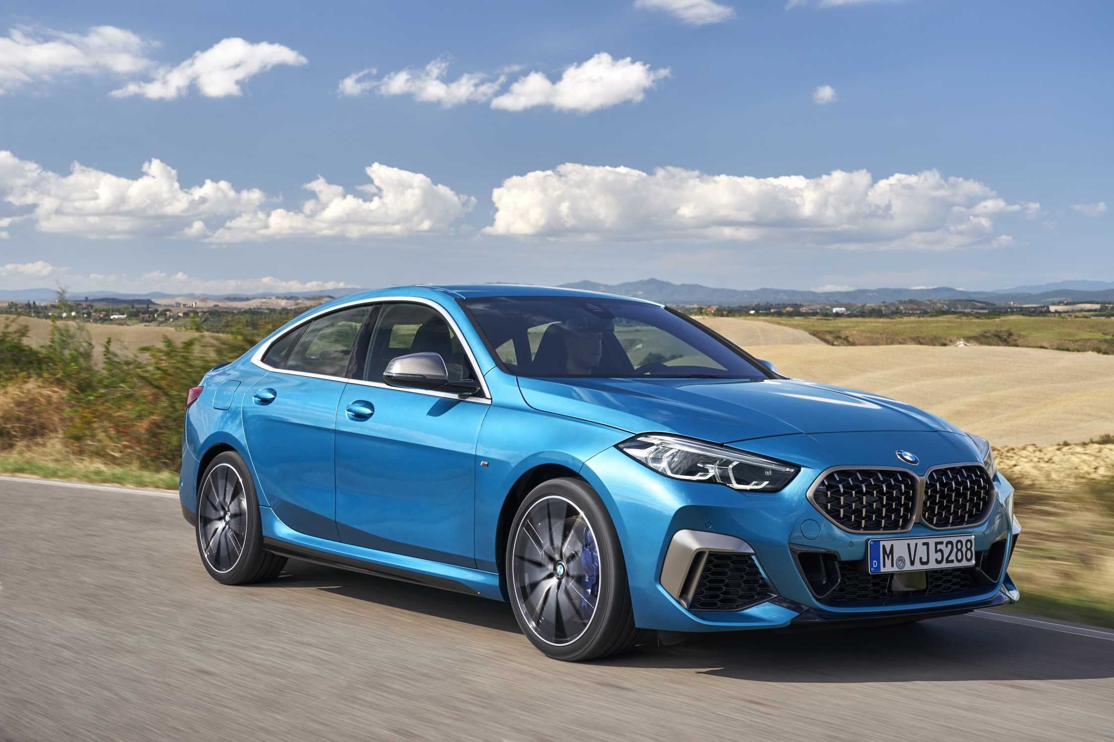 The first-ever BMW 2 Series Gran Coupe.