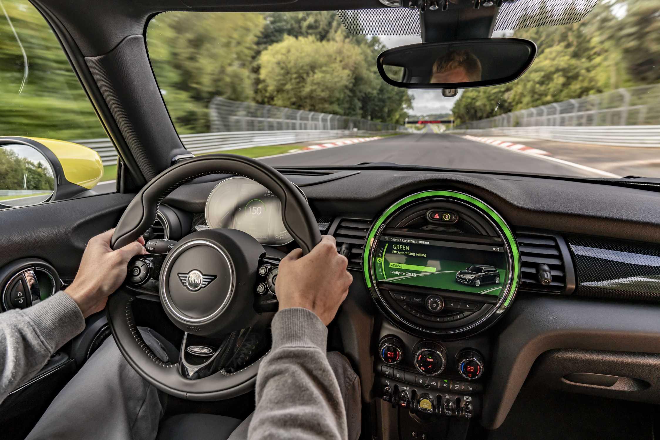 MINI Cooper SE - Green Mode @ Green Hell (10/19)
