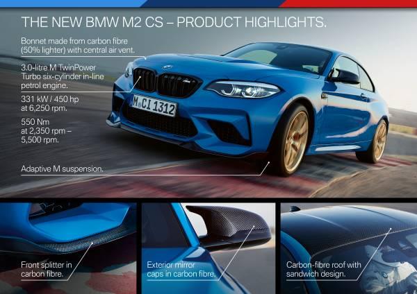 The New Bmw M2 Cs