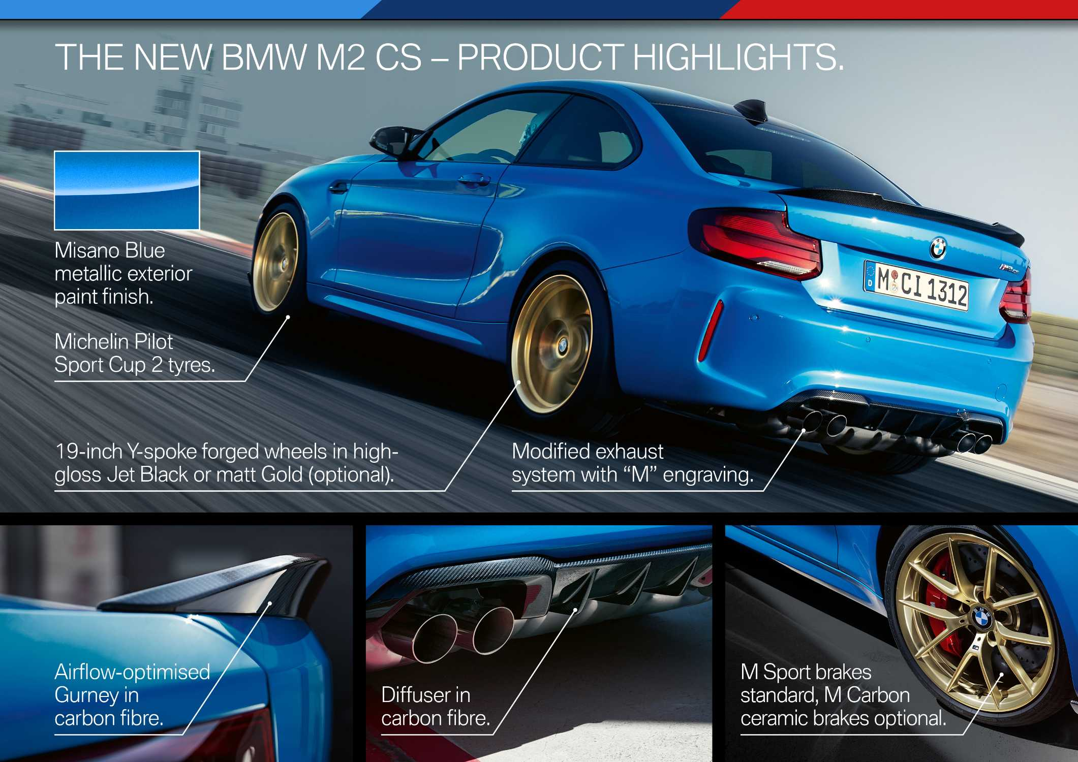 The all-new BMW M2 CS (11/2019).