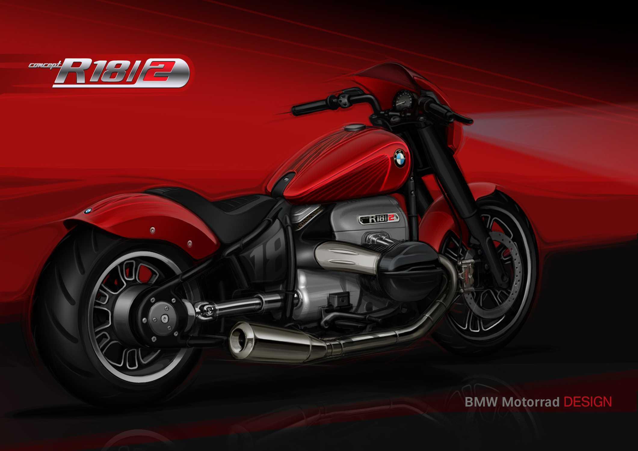 BMW Motorrad Concept R 18 /2. Design. (11/2019