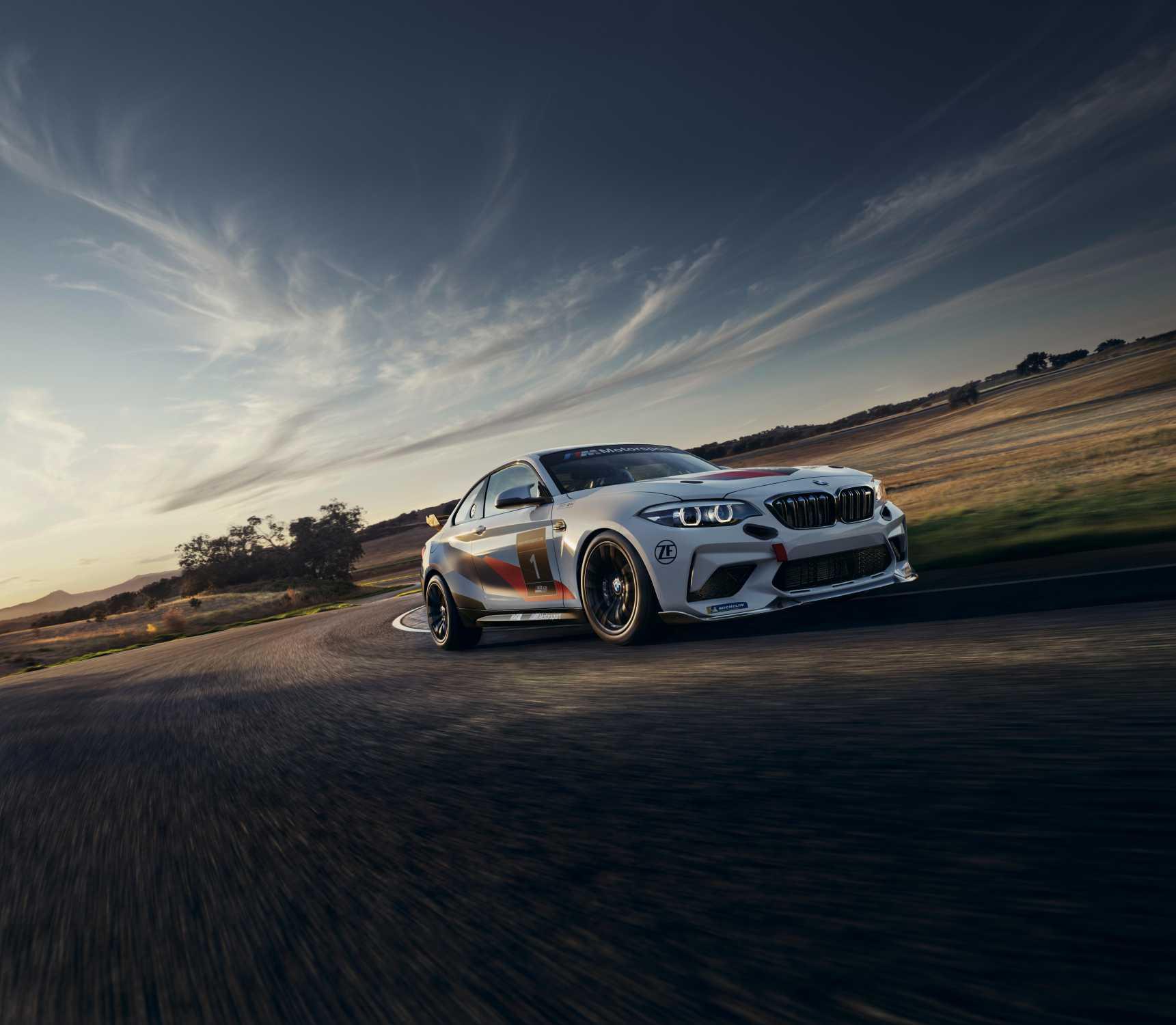 Bmw M2 Sport: BMW M2 CS Racing Celebrates Debut In North America