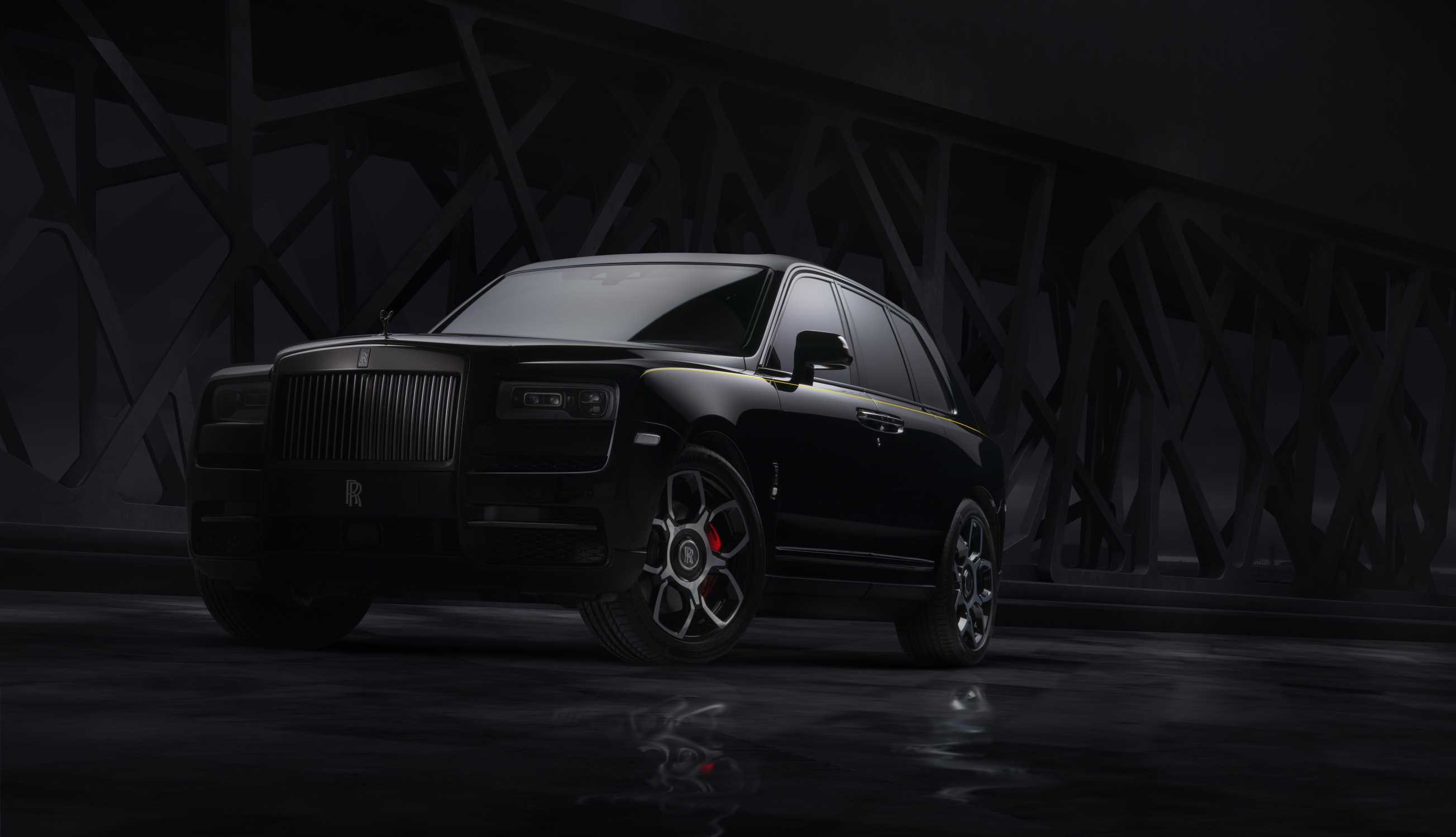 ROLLS-ROYCE MOTOR CARS' CULLINAN BLACK BADGE