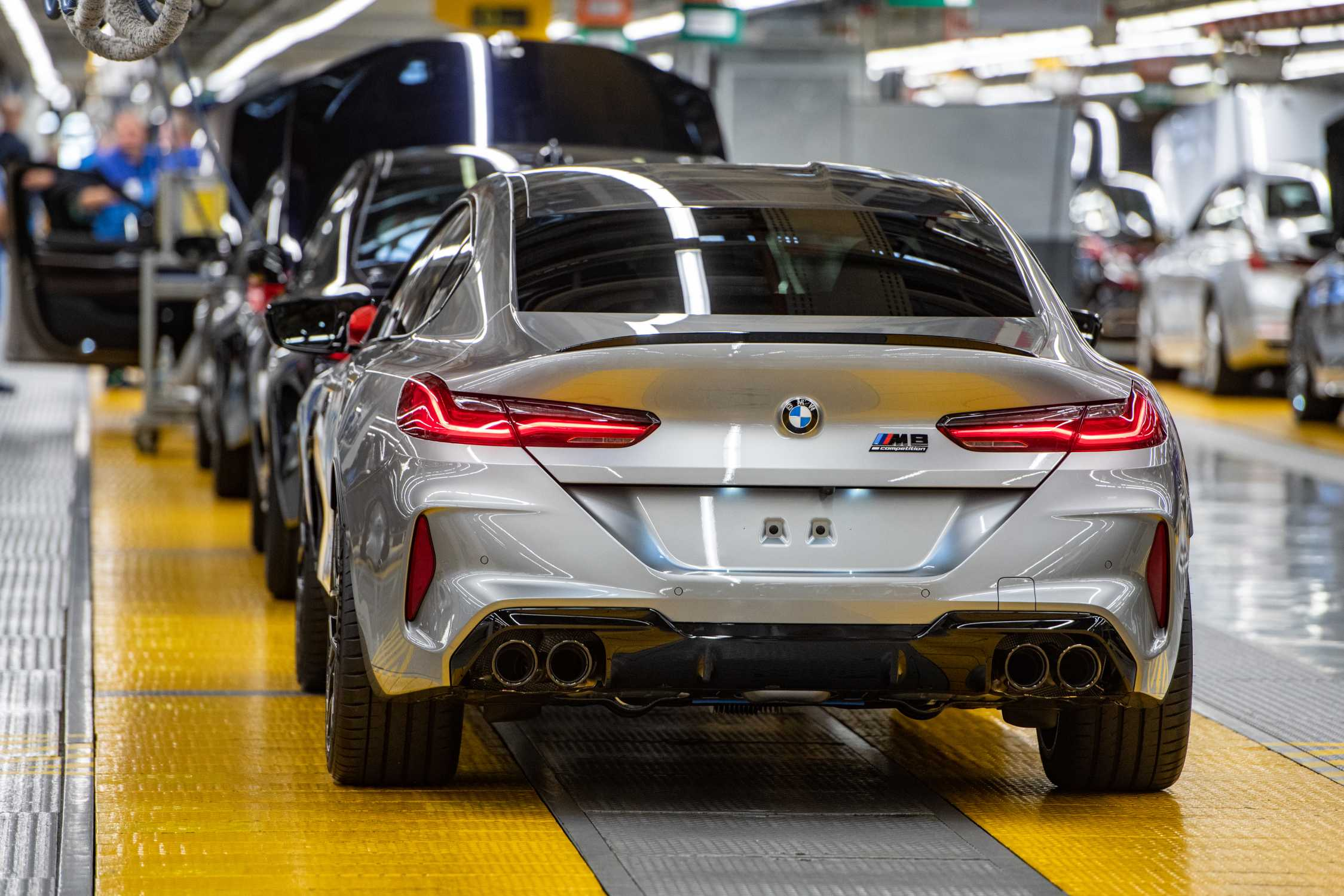 Start Of Production Of New Bmw M8 Gran Coupe At Bmw Group