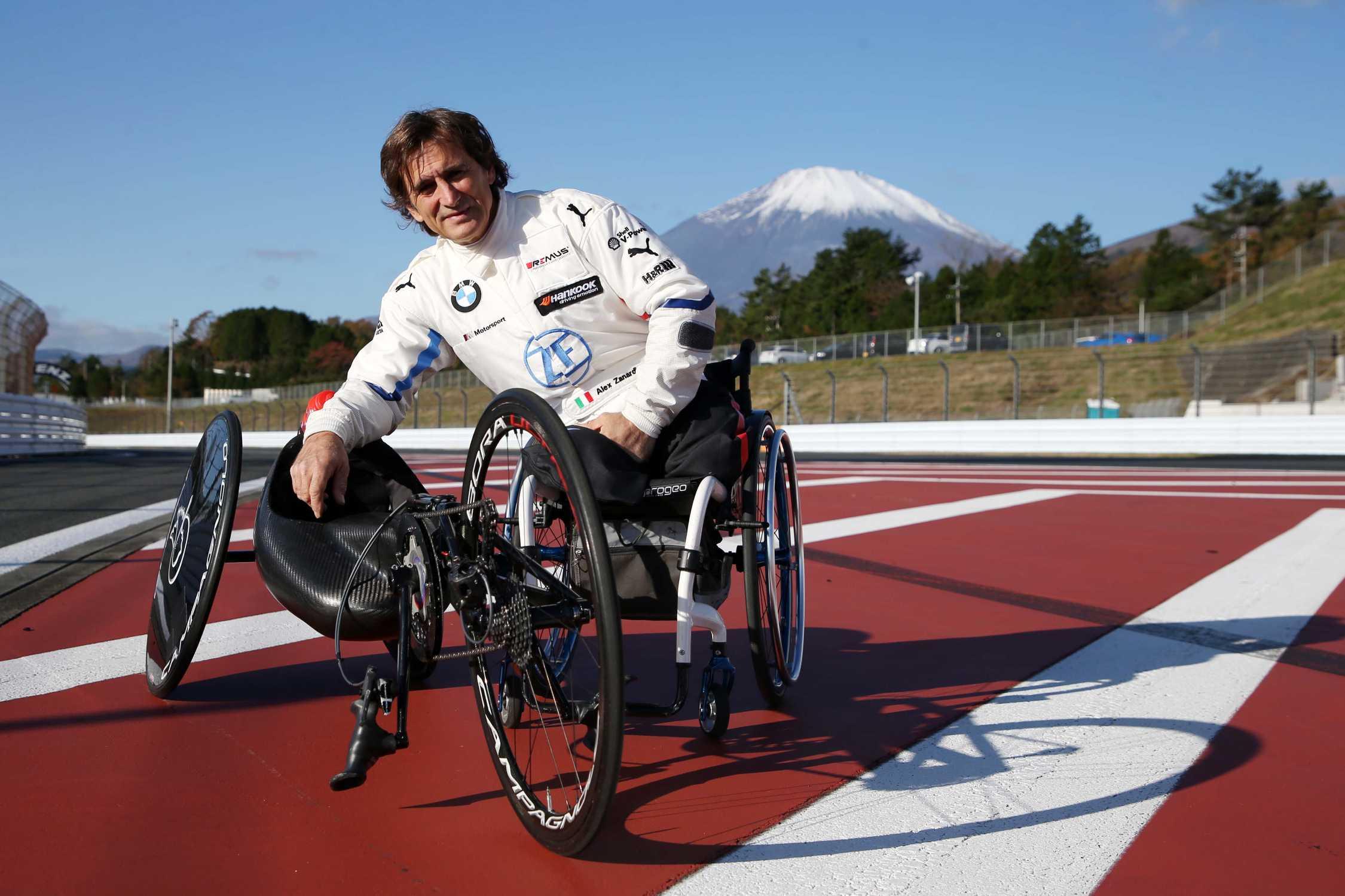 Mission Tokyo 2020: Alessandro Zanardi takes to the Fuji track ...