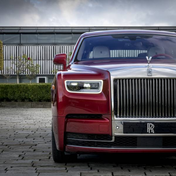 Rolls Royce Reveals Red Phantom Commission With Artist Mickalene Thomas