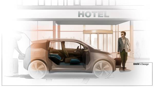 BMW i3 Urban Suite - sketches. (01/2020)