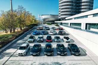BMW Group model range of electrified vehicles (01/2020).