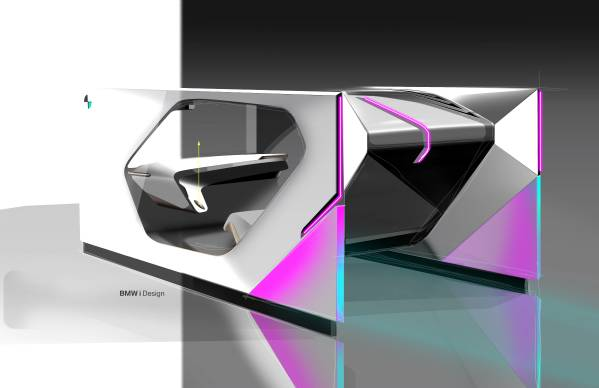 BMW i Interaction EASE - sketches. (01/2020)