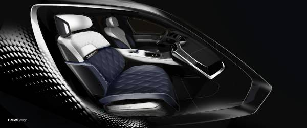 BMW X7 ZeroG Lounger - sketches. (01/2020)
