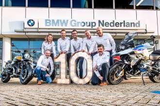 BMW Motorrad 10 jaar marktleiderschap