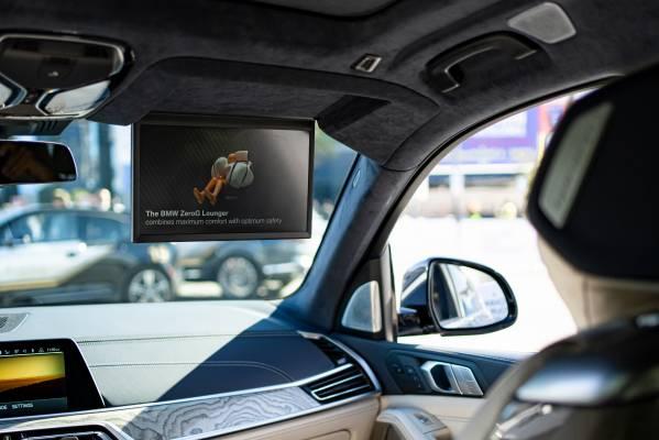 BMW X7 ZeroG Lounger - Cocoon Airbag. (01/2020)
